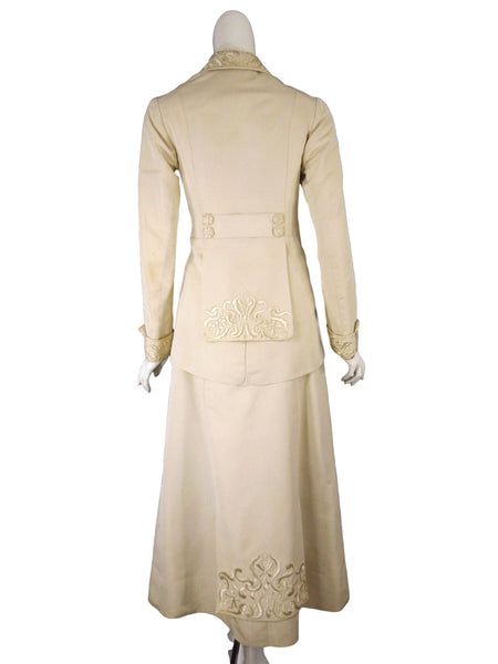 Edwardian Walking Suit - Back view