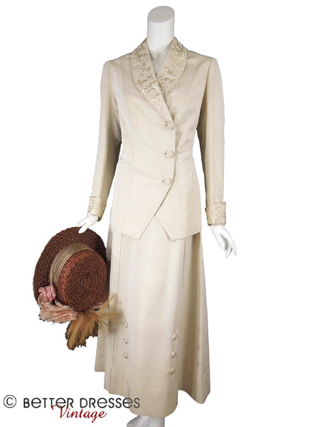Edwardian Walking Suit