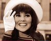"Marlo Thomas as ""That Girl!"" wearing a breton hat."