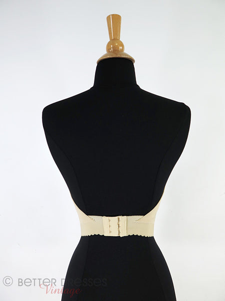 Vtg Strapless, Backless Bra - back
