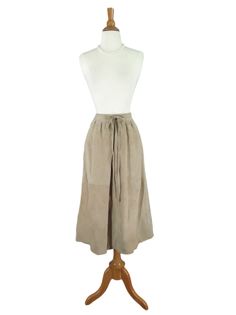 80s Suede Skirt