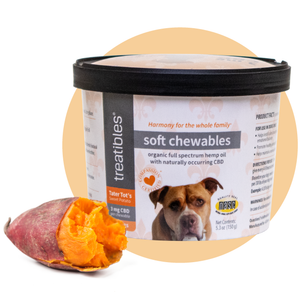 Tater Tot's Sweet Potato Soft Chewables - 3 mg CBD