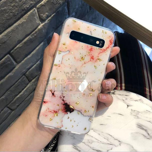 Galaxy S10 Plus Premium Snow White Soft Silicone Back Case