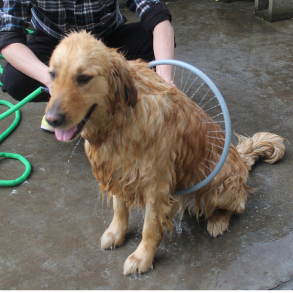 360 Degree Cleaning Ring Shower Tool for Pet Dogs