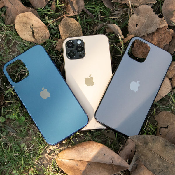 iPhone 12 Series Soft Edge Matte Finish Glass Case