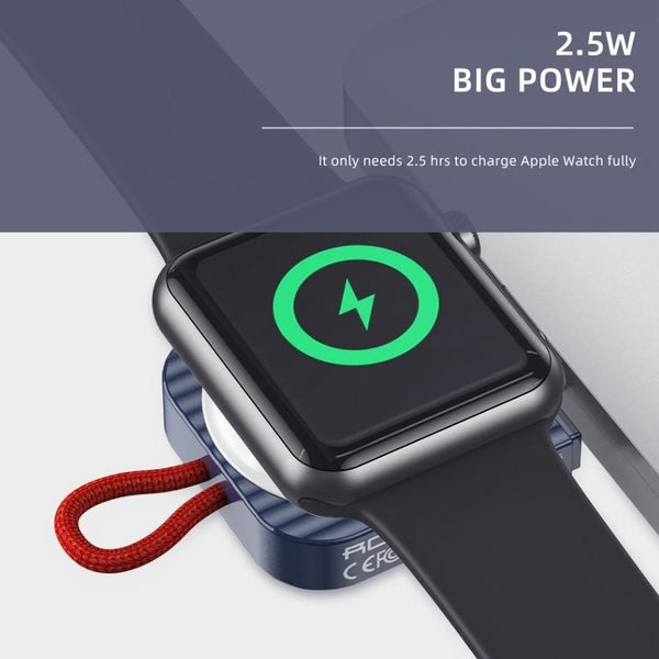 Rock Portable iWatch Wireless Charger