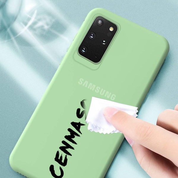 Galaxy S20 Plus Soft Silicone Candy Color Phone Case