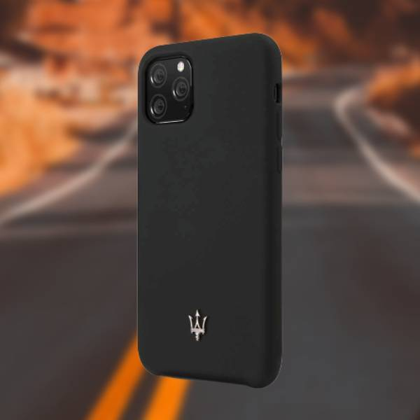 Maserati ® iPhone 11 Pro Max Capa Skin Soft-Touch Case