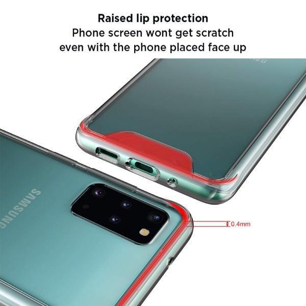Galaxy S20 Plus Anti knock Shockproof Transparent Case