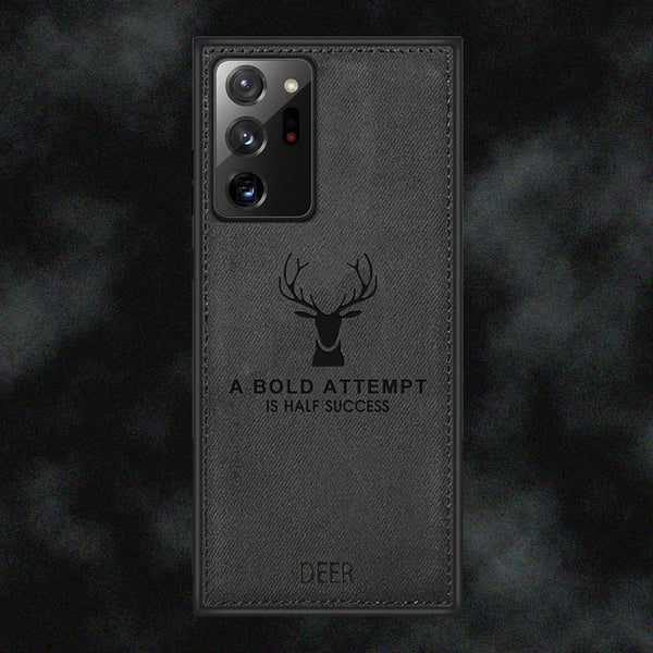 Galaxy Note 20 Ultra Deer Pattern Inspirational Soft Case