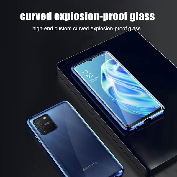 Galaxy S10 Lite (Front+Back) Protection Magnetic Fit Case