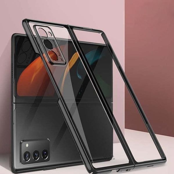 Galaxy Z Fold2 Shockproof TPU Transparent Case