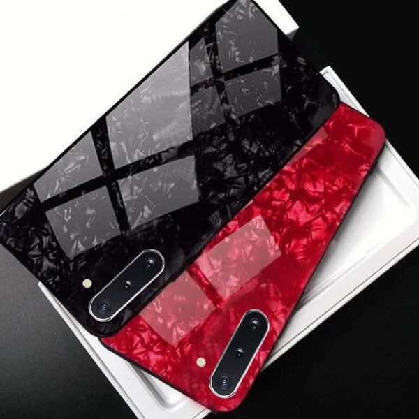 Galaxy Note 10 Dream Shell Series Textured Marble Case