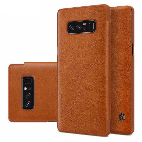 Galaxy Note 8 Qin Leather Premium Flip Case