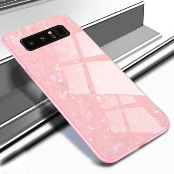 Galaxy Note 8 Dream Shell Series Textured Marble Case