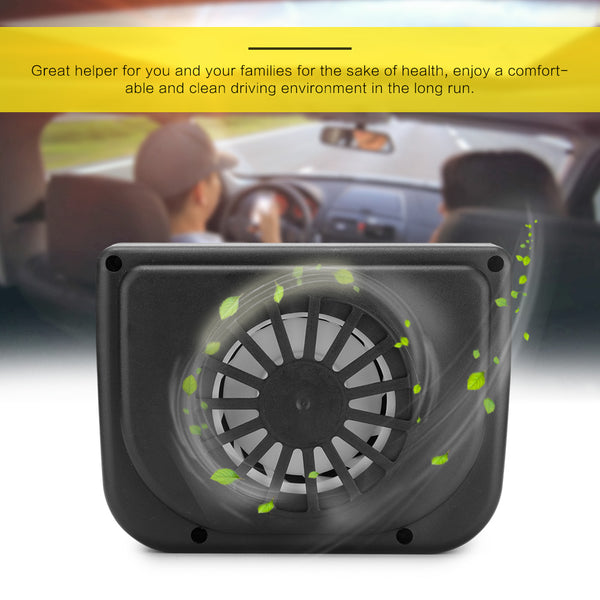 Auto Cool Solar Powered Ventilation Fan Car