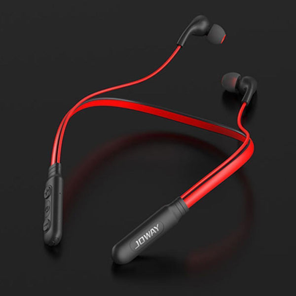 JOWAY Neckband Wireless Bluetooth Earphones H-53 (Black)