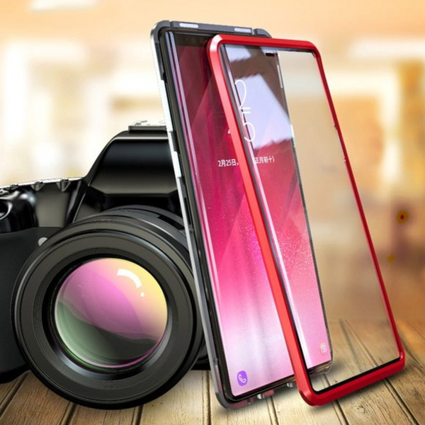 Galaxy Note 9 (Front+Back) Protection Magnetic Fit Case