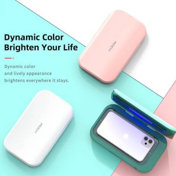 Uniqleaf® Mobile Phone UV sanitizer + Wireless Charger