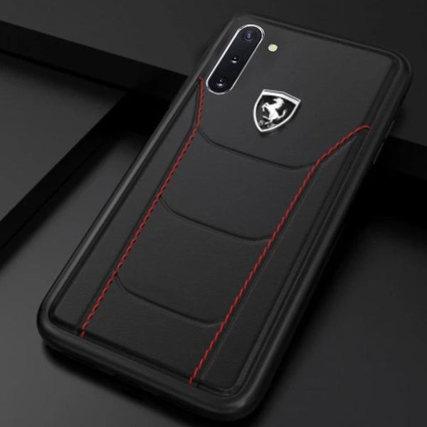Ferrari ® Galaxy Note 10 Genuine Leather Crafted Limited Edition Case