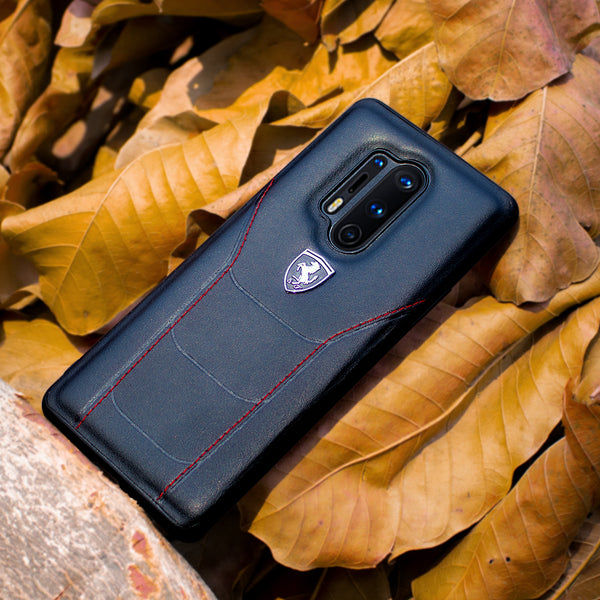 Ferrari Oneplus 8 Pro Genuine Leather Crafted Limited Edition Case