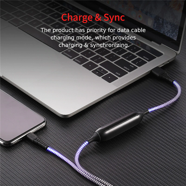 MK Rock Lightning Power Bank USB Cable (2-in-1)