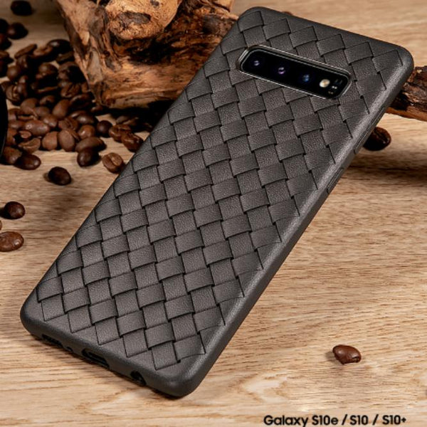 Henks Galaxy S10 Ultra-thin Grid Weaving Case