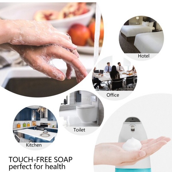 Smart Sensor Touchless Hand Wash Machine
