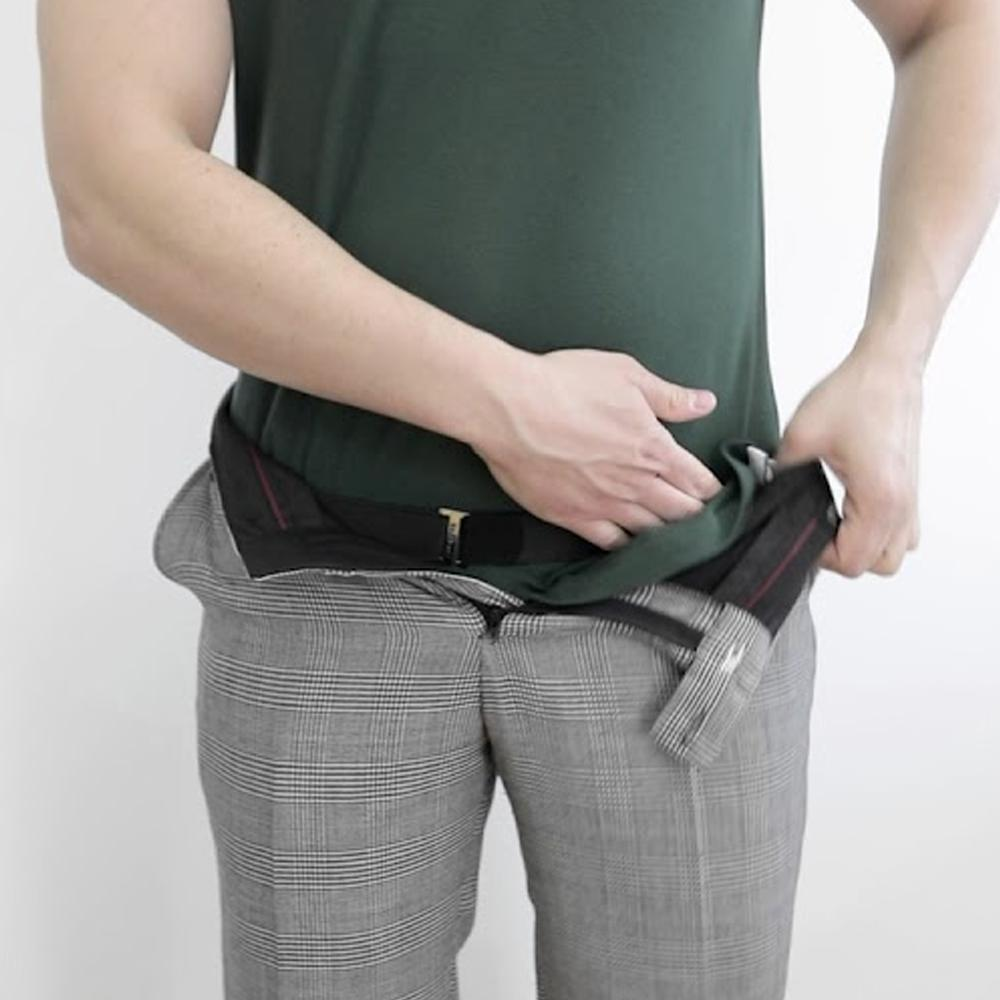 Shirt Tucker - Stays Adjustable Non Slip Wrinkle Belt