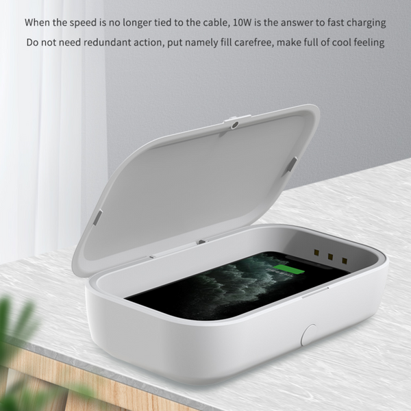 Uniqleaf Mobile Phone UV sanitizer + Wireless Charger