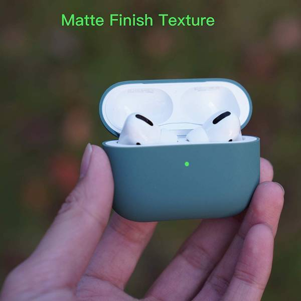 ROCK Silicone Protective LED Case for Apple Airpods Pro