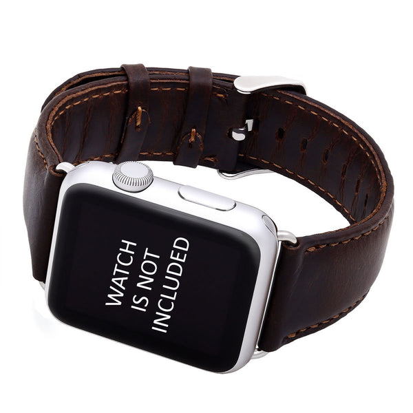 Genuine Leather Wrist Band 42mm for Apple Watch  (ONLY STRAP NOT WATCH)