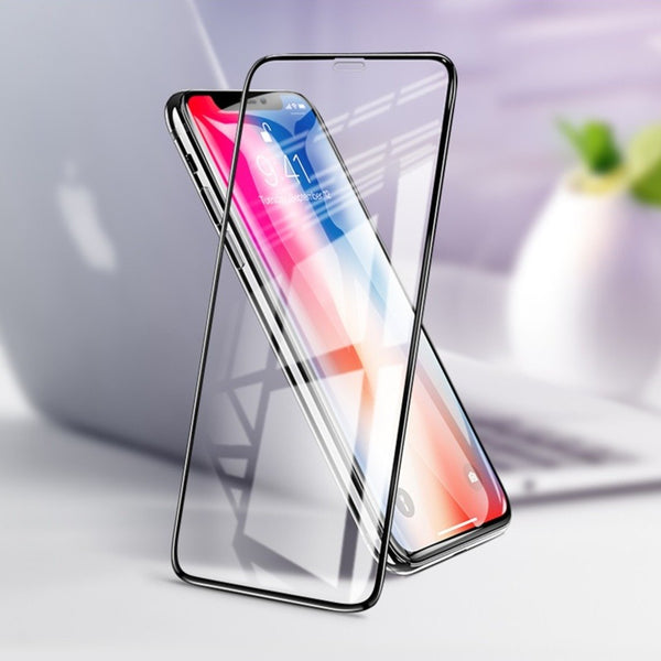 iPhone XS Full Coverage Curved Tempered Glass