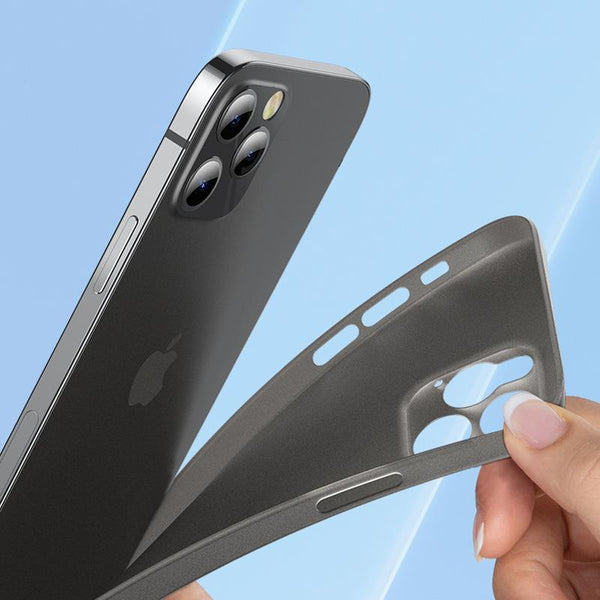 iPhone 12 Ultra-Thin Matte Paper Back Case