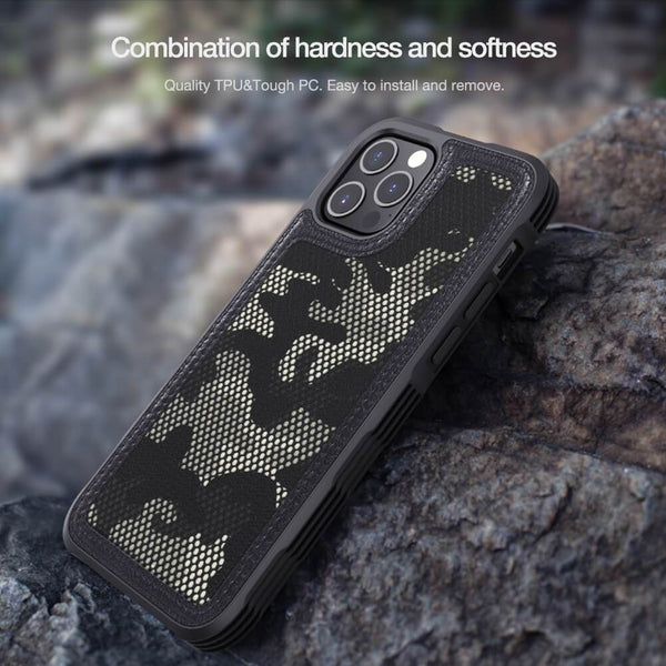 Nillkin iPhone 12 Mini Camouflage Pattern Cloth Case