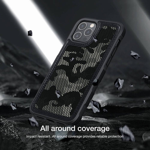 Nillkin iPhone 12 Pro Max Camouflage Pattern Cloth Case