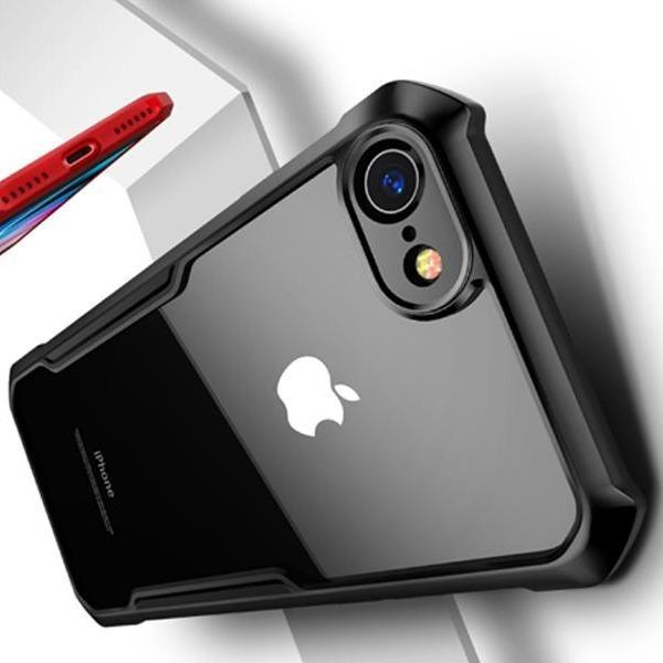 iPhone SE (2020) Shockproof Bumper Phone Case with Camera Protection