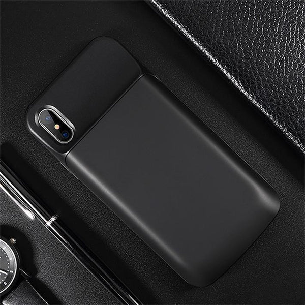 JLW iPhone XS Max Portable 5000 mAh Battery Shell Case