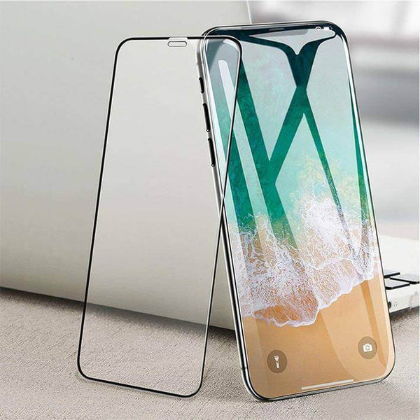 iPhone XR Full Coverage Curved Tempered Glass