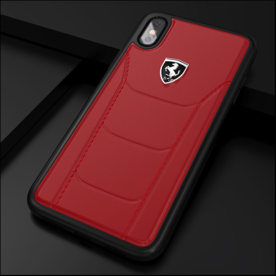 Ferrari ® iPhone Series Genuine Leather Crafted Limited Edition Case