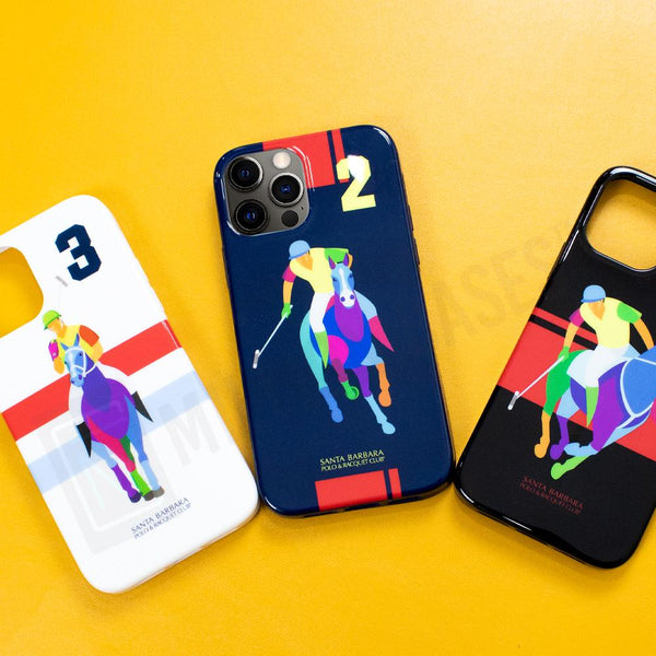 iPhone 12 Pro Santa Barbara Polo Racquet Jockey Series Case
