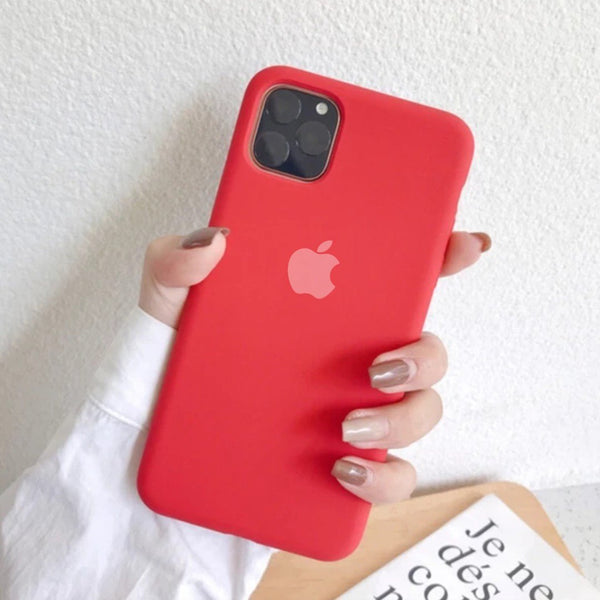 iPhone 11 Series Liquid Silicone Logo Case