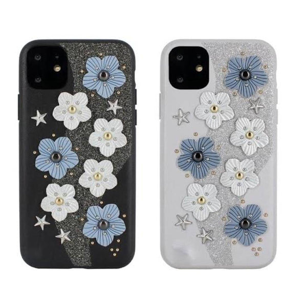 Luna Aristo iPhone 11 Pro 3D Flower Print Case