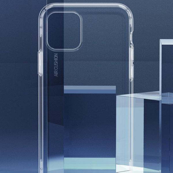 MK iPhone 11 Pro Max Baseus Anti-Knock TPU Transparent Case