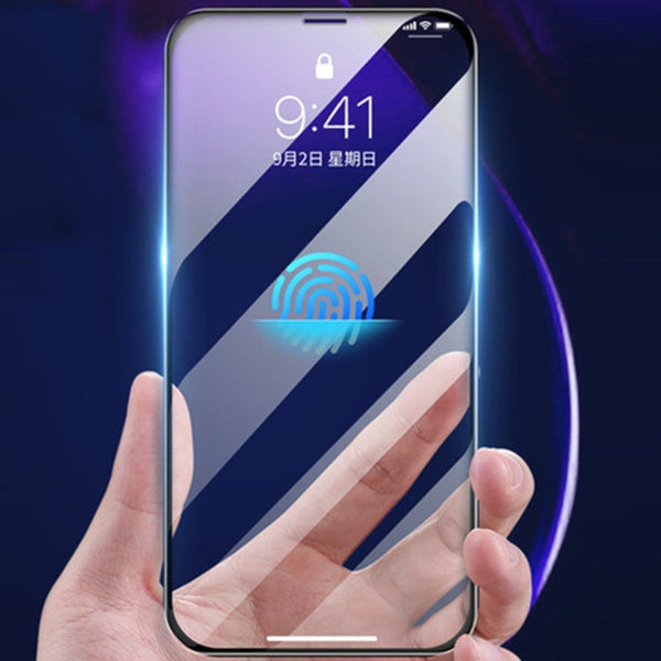MK ® iPhone 11 Pro Max Recci Ultra HD Full Coverage Tempered Glass