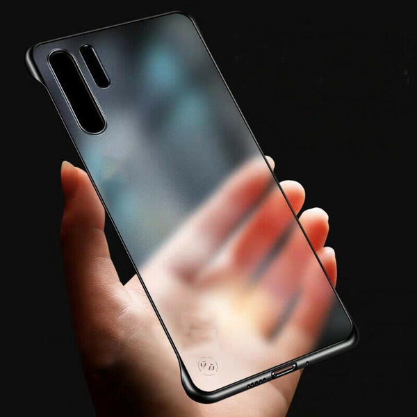 Galaxy Note 10  Luxury Frameless Transparent Case