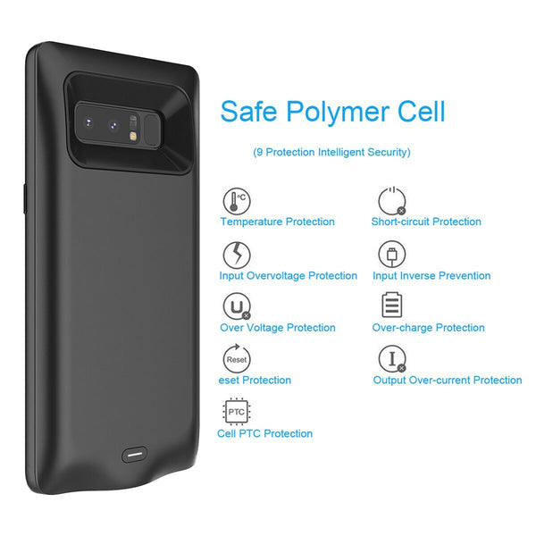 Galaxy Note 8 Portable 6500 mAh Battery Shell Case