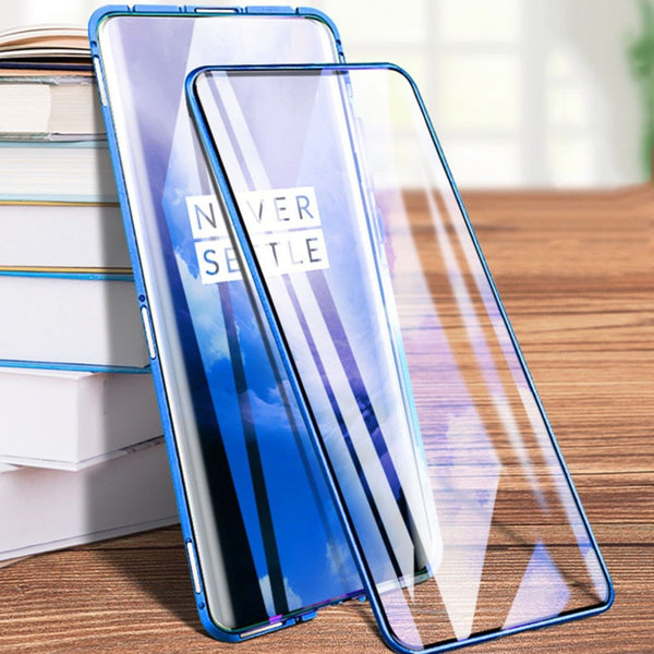 OnePlus 7 (Front+Back) Protection Magnetic Fit Case