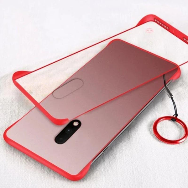 OnePlus 7 Luxury Frameless Transparent Case