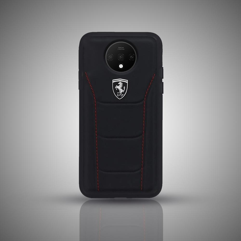Ferrari OnePlus 7T Genuine Leather Crafted Limited Edition Case